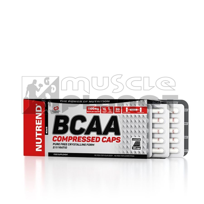 BCAA Compressed Caps (120 tabletta)