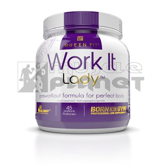 Olimp Queen Fit Work It Lady Preworkout (337 g)