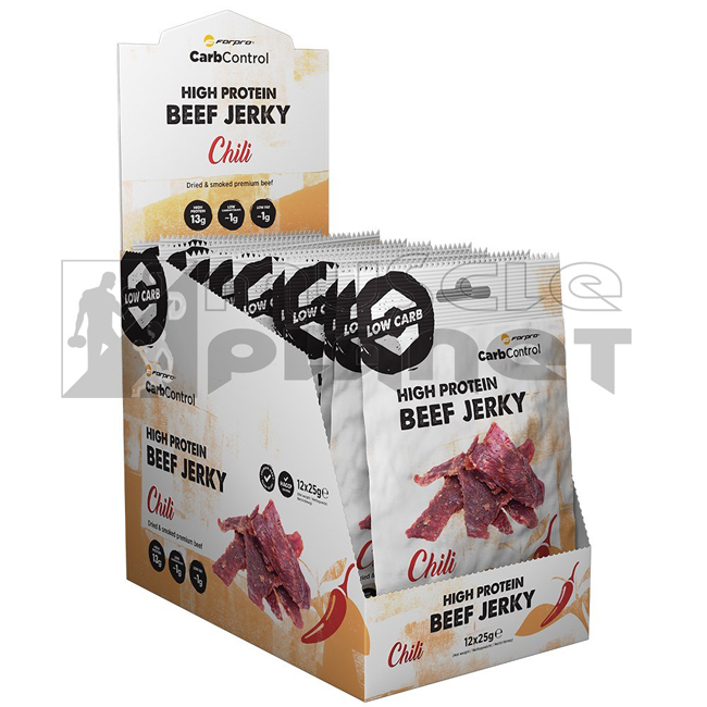 High Protein Beef Jerky (12x25 g)