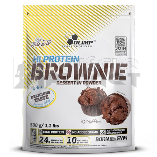 Hi Protein Brownie (500 g)