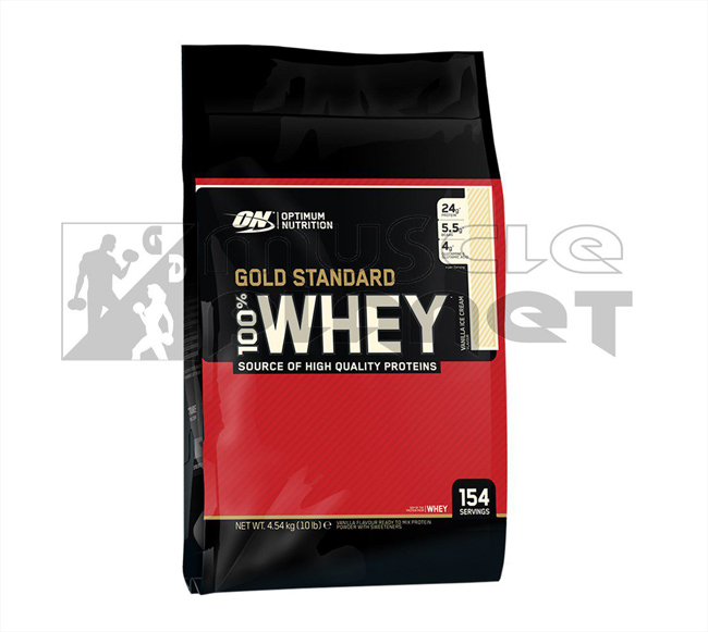 Gold Standard 100% Whey (4540 g)