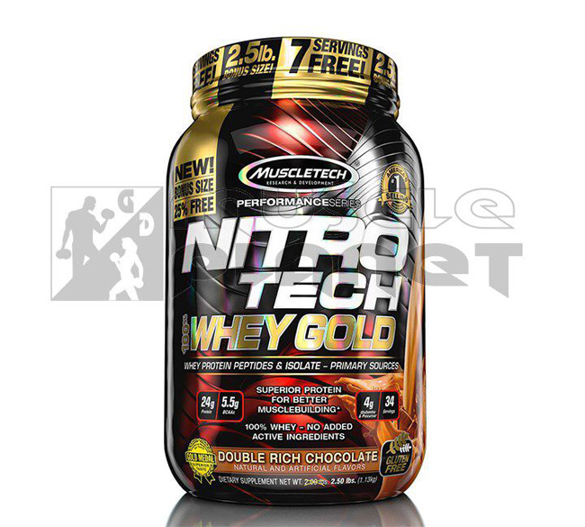 Nitro Tech 100% Whey Gold (1130 g)