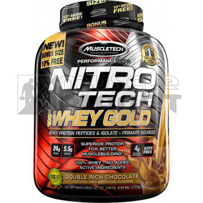Nitro Tech Whey Gold (2510 g)
