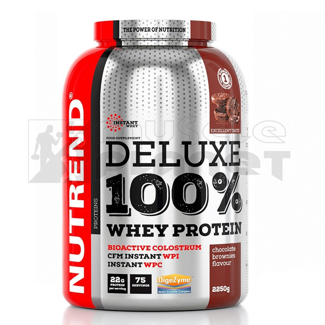 Deluxe 100% Whey Protein (2250 g)