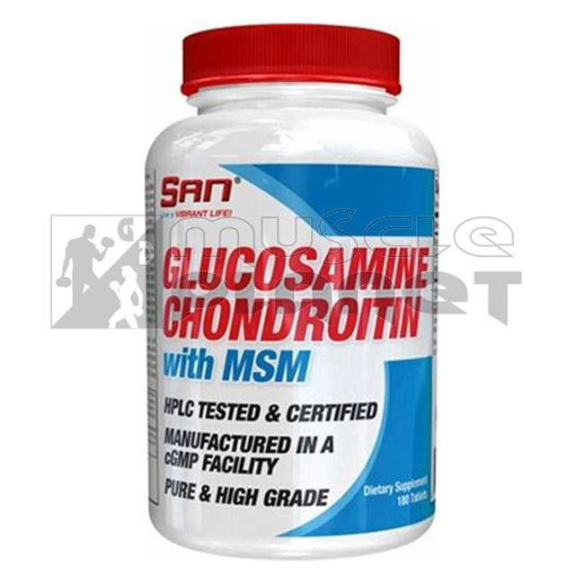 Glucosamine Chondroitin With MSM (180 tabletta)