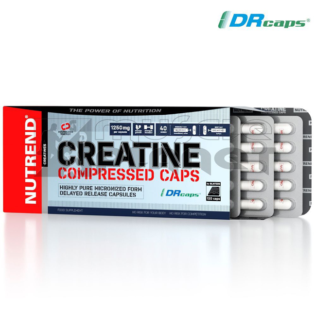 Creatine Compressed Caps (120 kapszula)