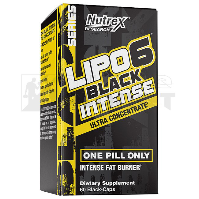Lipo 6 Black Intense Ultra Concentrate EU (60 kapszula)