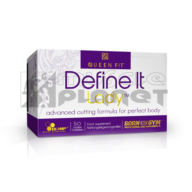 Queen Fit Define It Lady (50 tabletta)