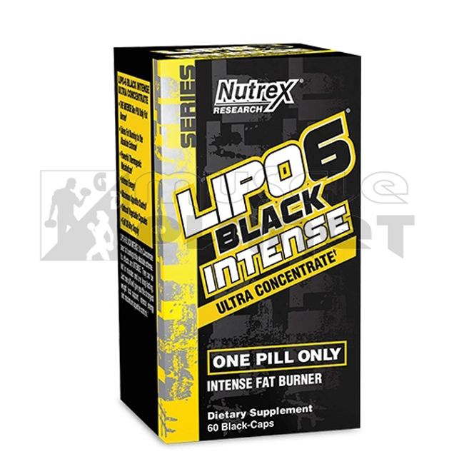Lipo 6 Black Intense Ultra Concentrate USA (60 kapszula)